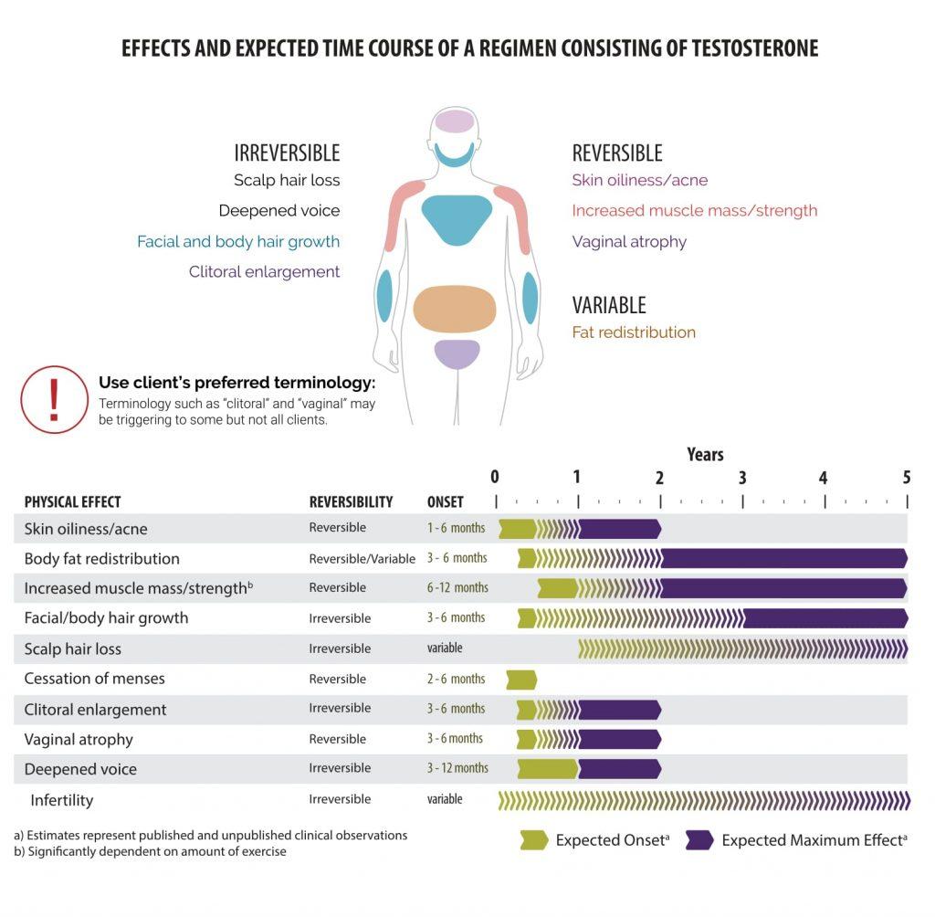 Hormones effects female transgender Cross